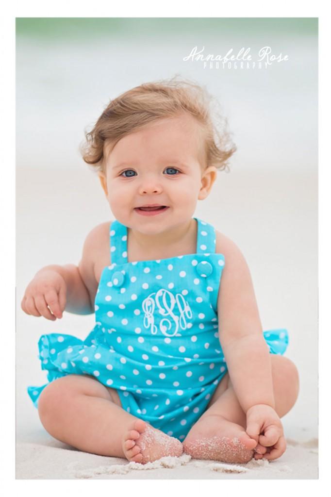 Baby Photographer | Pensacola Beach, Florida