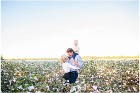 Cotton Field Mini Sessions